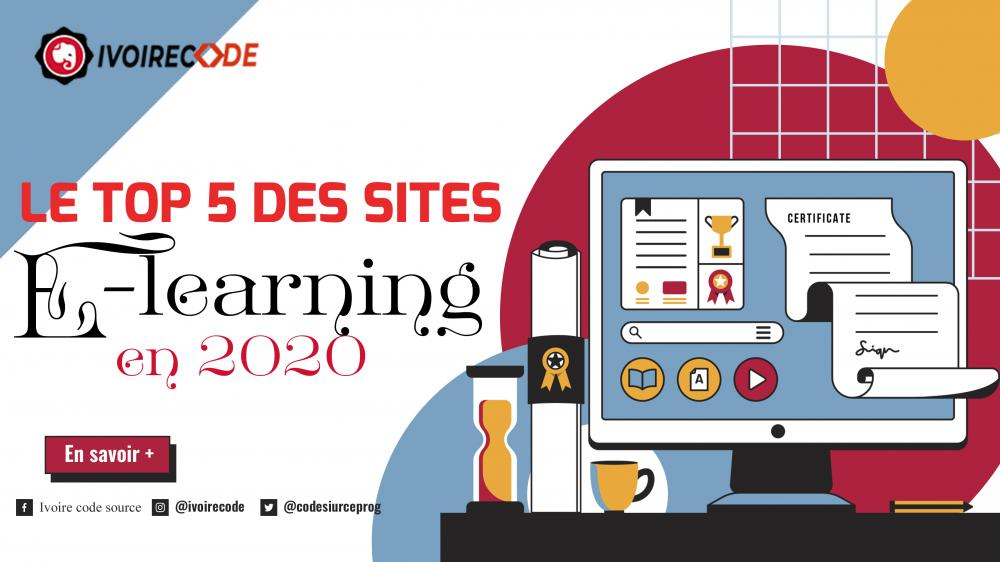 Top 5 des e-learning en 2020
