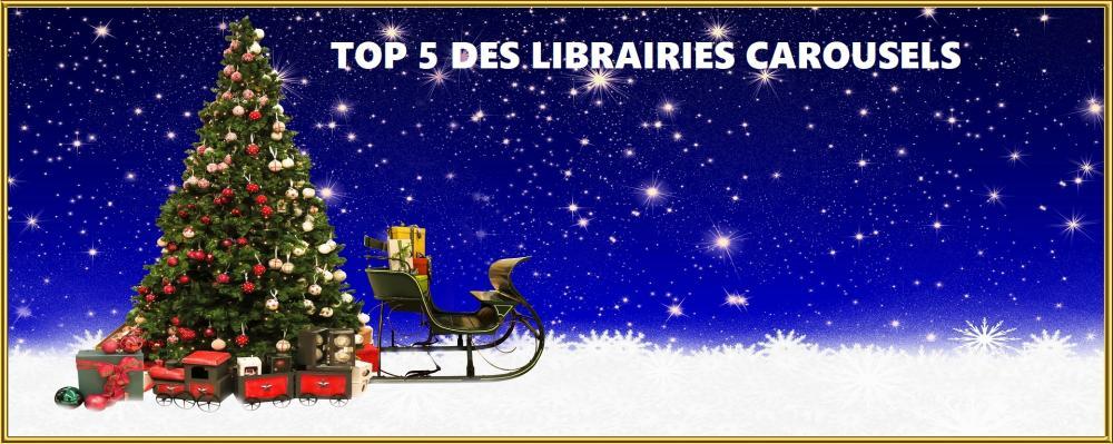 le top 5 des librairies carrousels a découvrir absolument