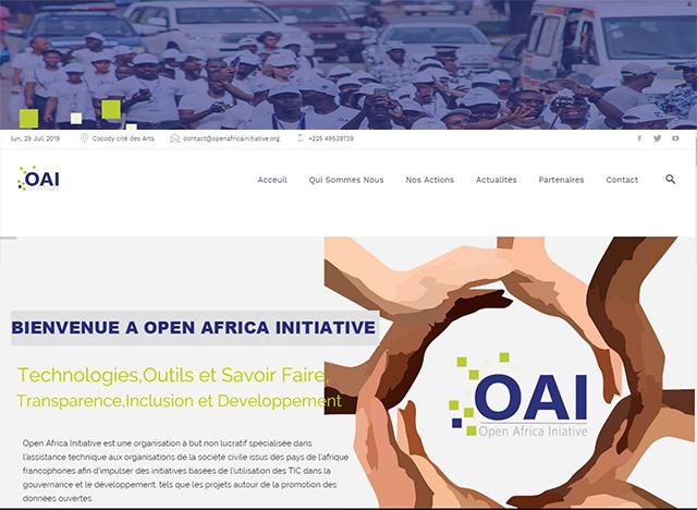 Refonte d'Open Africa Initiative