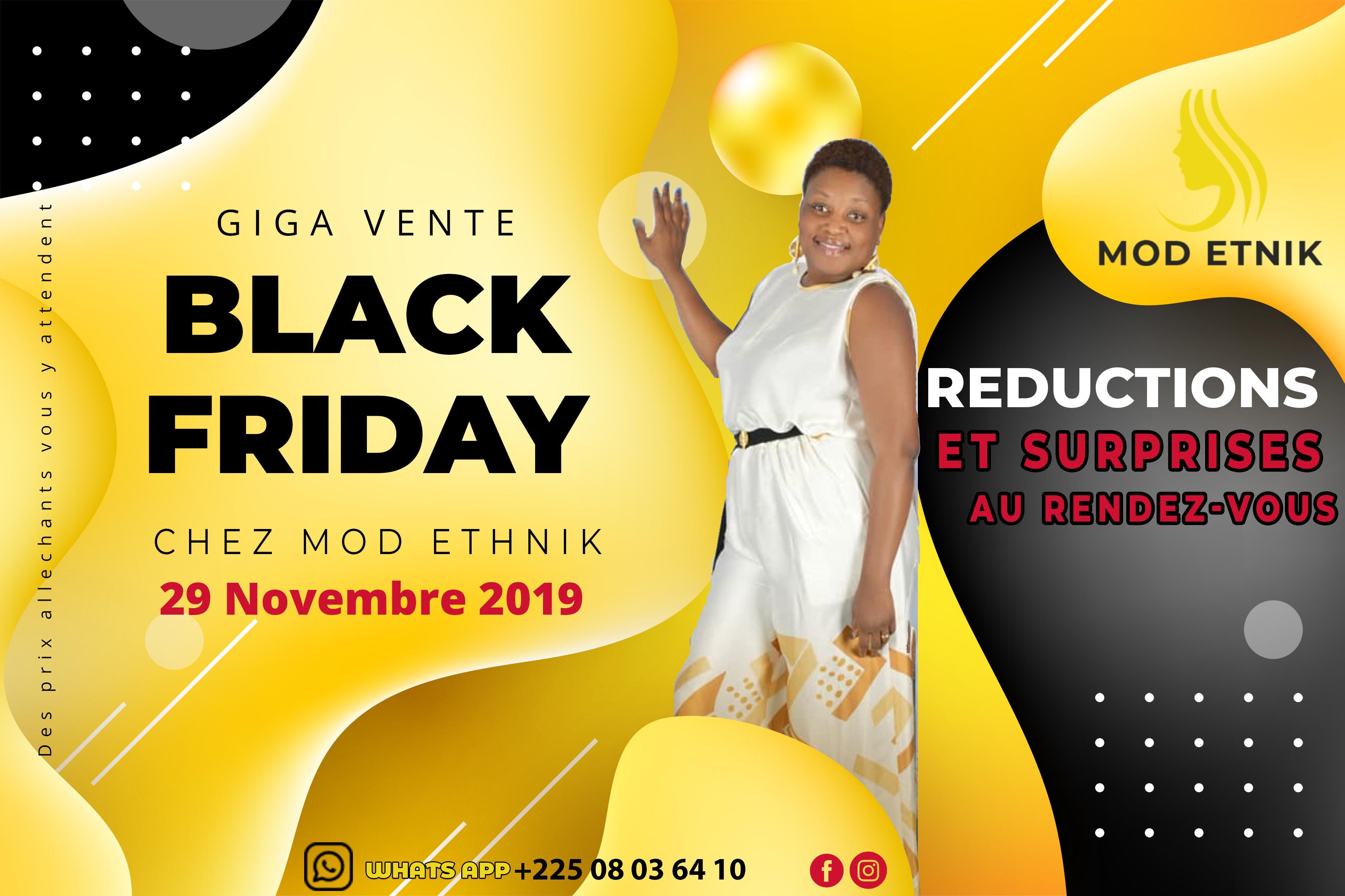 Bannière Mod Etnik BLACK FRIDAY